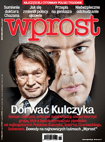 Okładka tygodnika WPROST: 28/2014