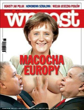 Okładka tygodnika Wprost nr 26/2007 (1279)