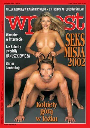 Okładka tygodnika Wprost nr 28/2002 (1024)