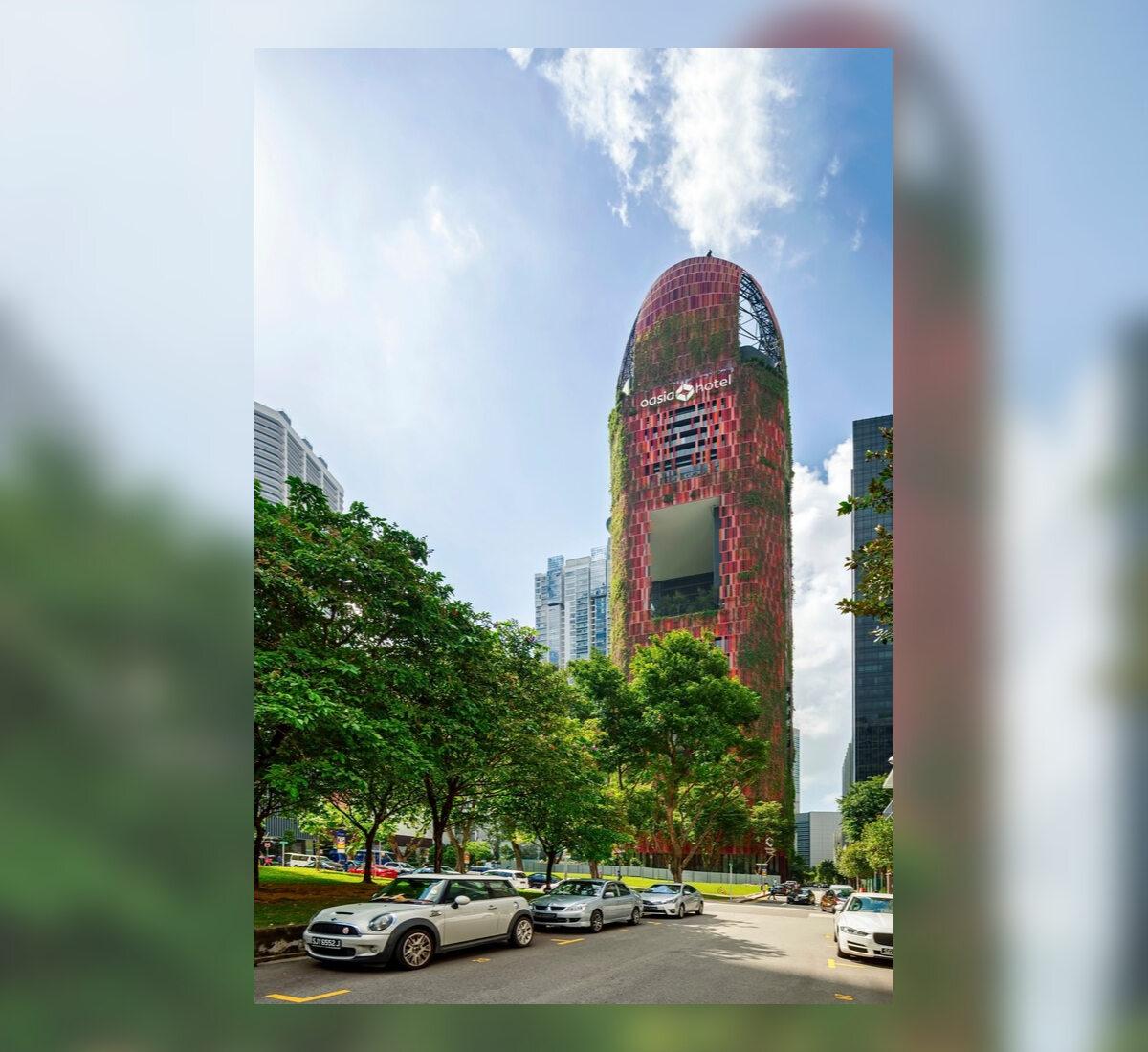 Oasia Hotel Oasia Hotel w Singapurze