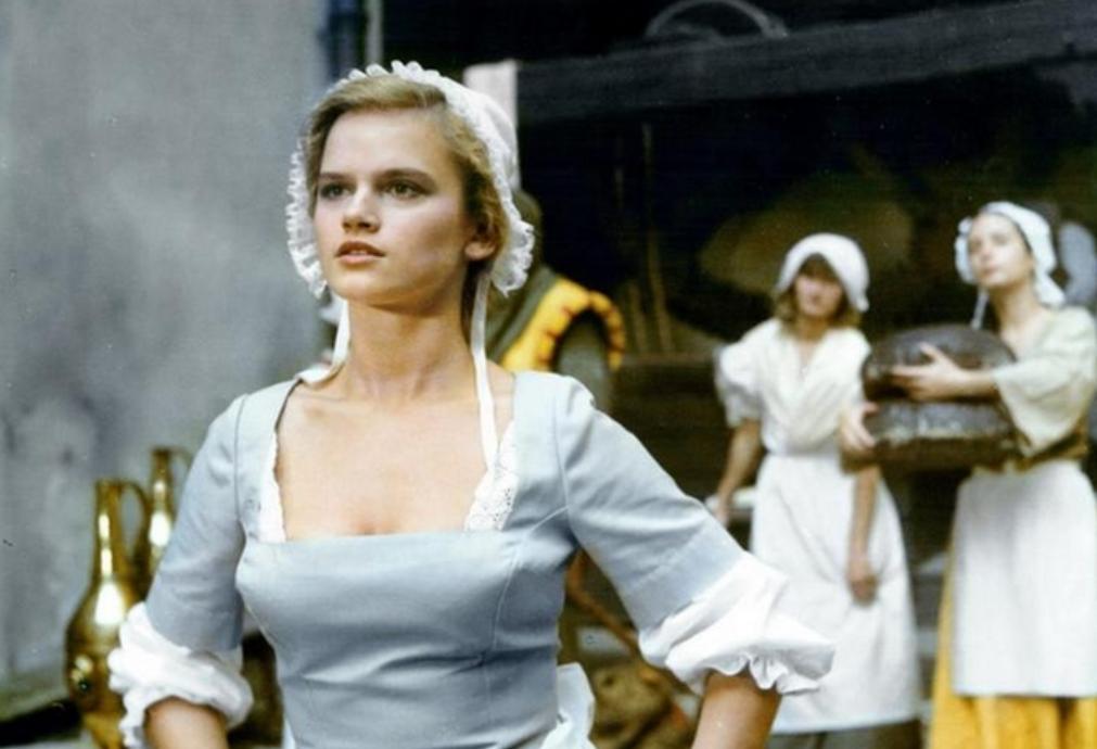 """Kadr z filmu """"Pierścień i róża"""""""