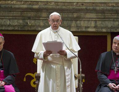 """Ważne przesłanie papieża Franciszka. """"Miliony ludzi uciekają, tak jak..."""