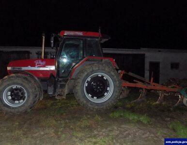 Traktorzysta był tak pijany, że zaorał drogę