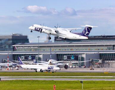 Awaryjne lądowanie na Lotnisku Chopina. Maszyna zawróciła tuż po starcie