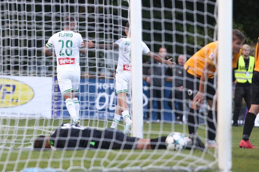 Zdjęcie z meczu Lechii Gdańsk z Gryfem Wejherowo