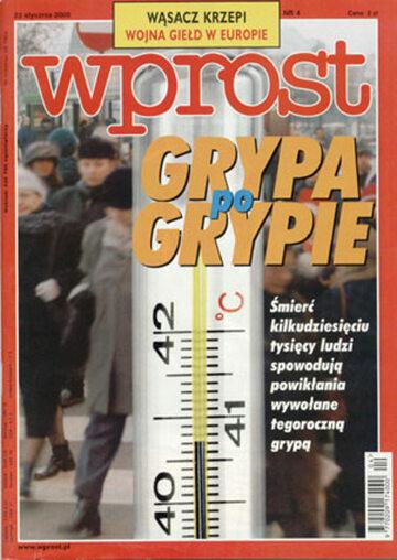 Okładka tygodnika Wprost nr 4/2000 (895)