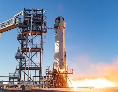 Wiadomo kto poleci w kosmos z Jeffem Bezosem i jego bratem. Miejsce...