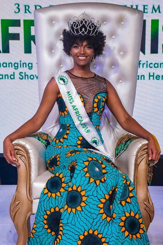 Dorcas Kasinde, zwyciężczyni konkursu MISS Africa 2018