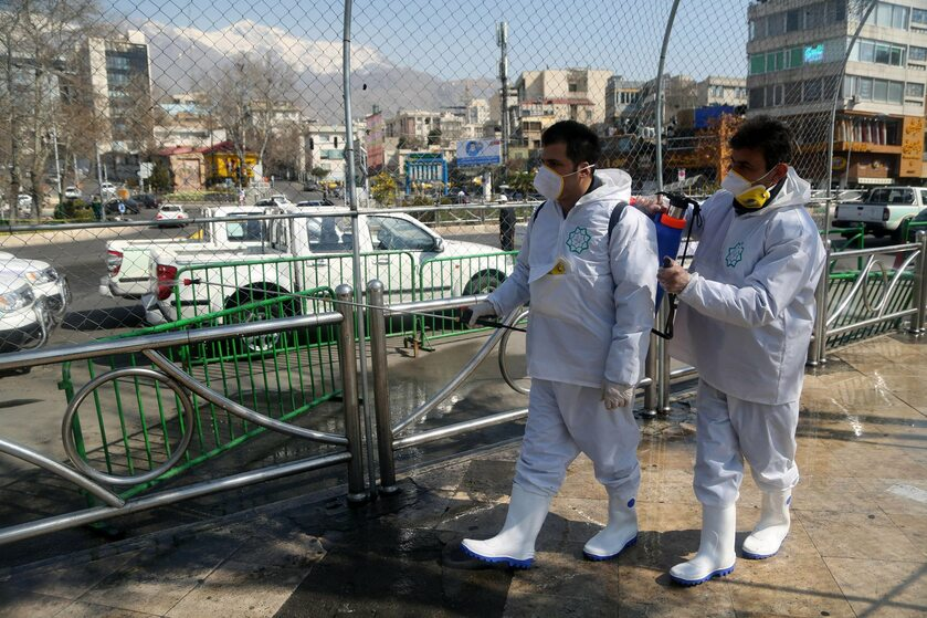 Iran w czasie epidemii koronawirusa