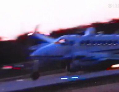 USA: samolot lądował... bez jednego koła