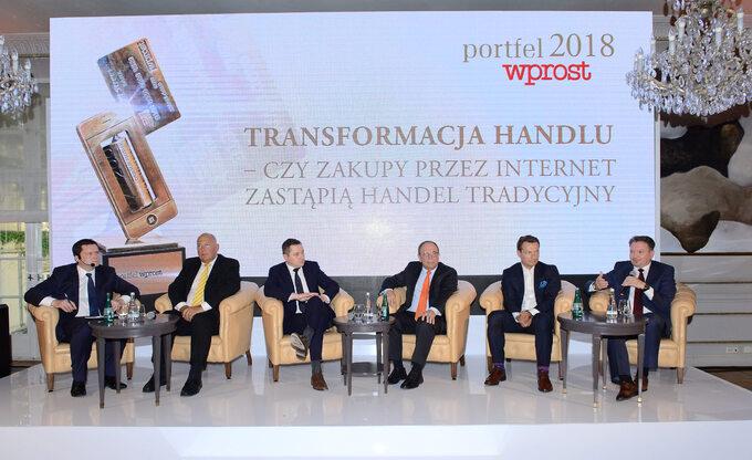 Debata transformacja handlu