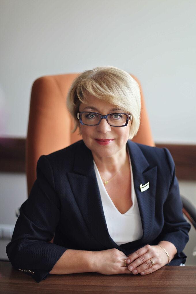 Zofia Małas prezes Naczelnej Izby Pielęgniarek i Położnych