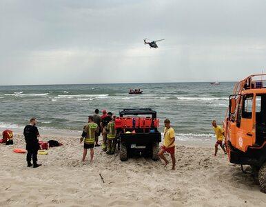 50-latek utonął w Bałtyku, jego syn zaginął. Kąpali się na niestrzeżonym...