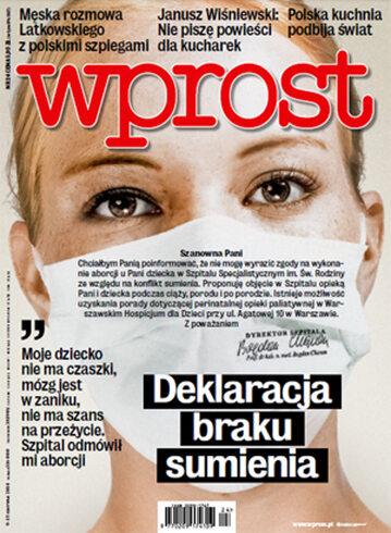 Okładka tygodnika Wprost nr 24/2014 (1632)