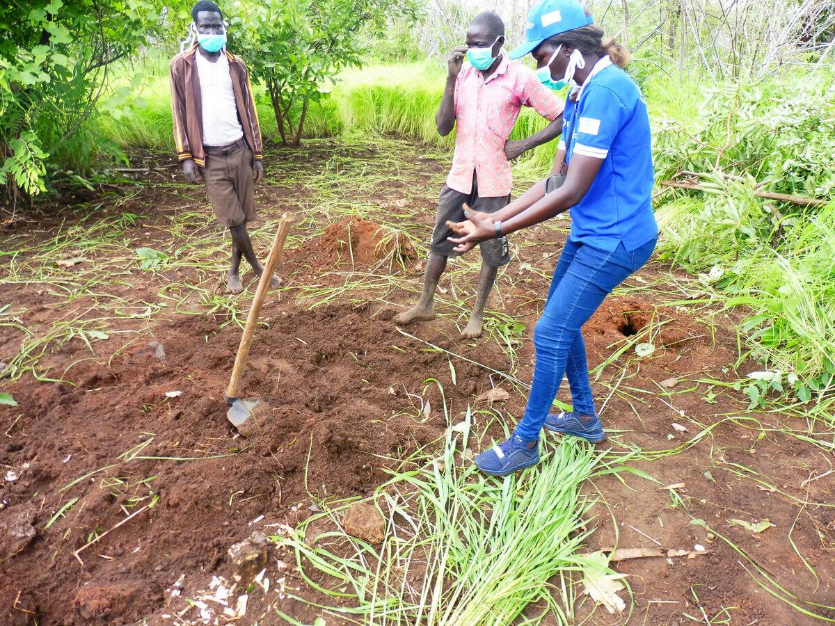 Sudan Południowy. Szkolenia rolnicze PAH