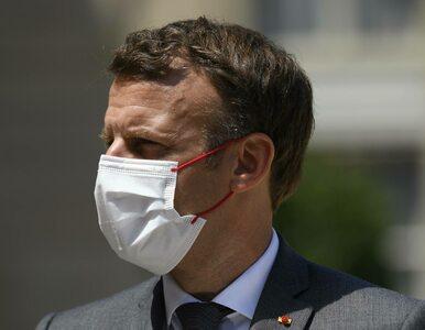 """Spoliczkowanie prezydenta Francji. W domu podejrzanego znaleziono """"Mein..."""