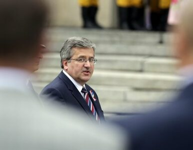 Komorowski zyskuje, Sejm traci