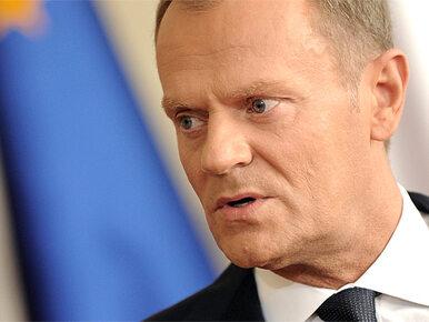 """Tusk rozczarowany Nowakiem. """"Jego kariera definitywnie skończona"""""""