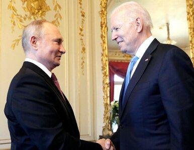 Biden: Powiedziałem Putinowi, że jestem za USA, nie przeciw Rosji....