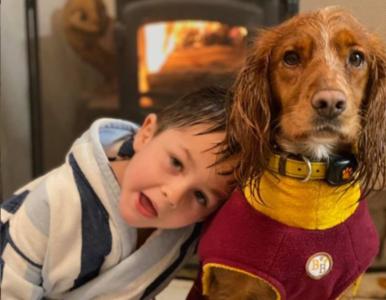 Cierpiący na autyzm chłopiec zaprzyjaźnił się z psem. Zobaczcie sami