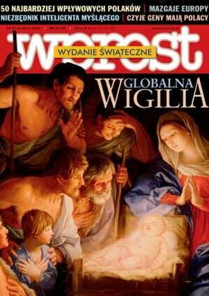 Okładka tygodnika Wprost nr 52/2004 (1152)