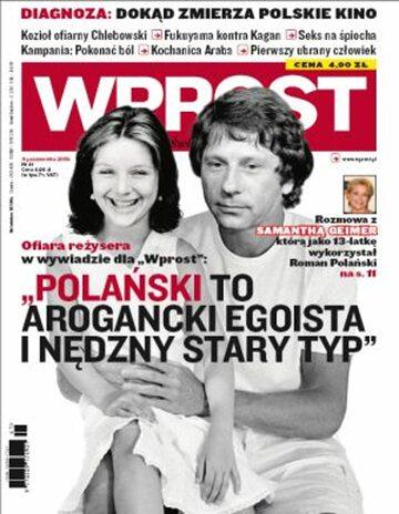 Okładka tygodnika Wprost nr 41/2009 (1394)
