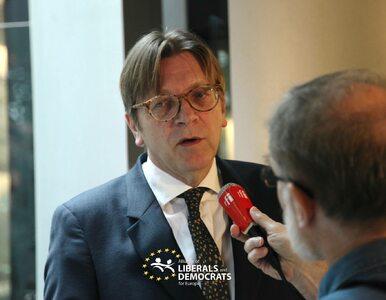 Guy Verhofstadt: Putin cieszyłby się z Polski opuszczającej UE