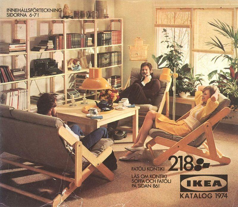 Okładka katalogu IKEA z 1974 roku