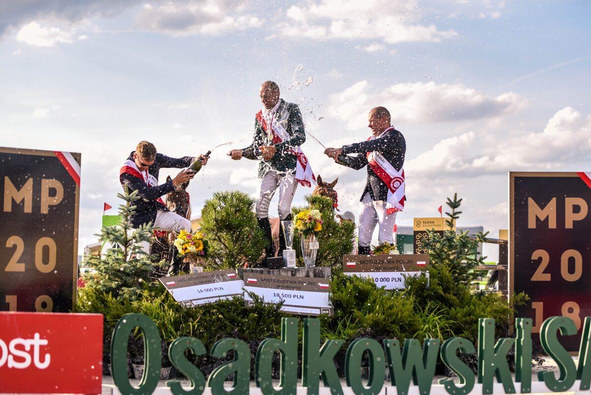 Podsumowanie Mistrzostw Polski 2018 Mistrzostwa Polski w skokach przez przeszkody. KJ Osadkowski w Jakubowicach.