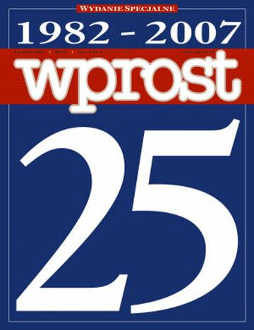 Okładka tygodnika Wprost nr 49/2007 (1302)