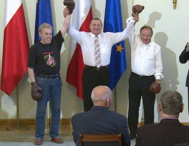 Olbrychski pobił się z bokserem... w Pałacu Prezydenckim