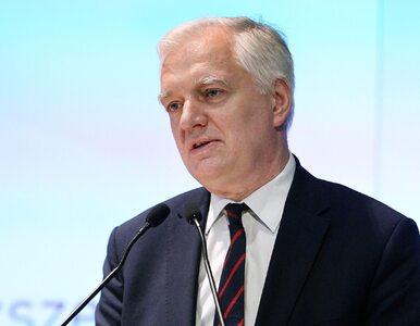 """Jarosław Gowin komentuje zamieszanie w MS. Mówi o """"House of Cards"""" i..."""