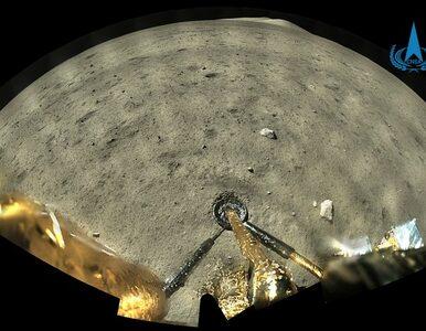Chińska sonda przesłała zdjęcia z Księżyca. To pierwsza tego typu misja...