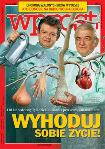 Okładka tygodnika Wprost nr 19/2002 (1015)