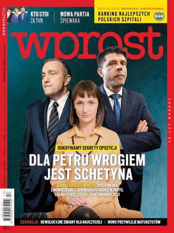 Okładka tygodnika Wprost nr 17/2017 (1784)