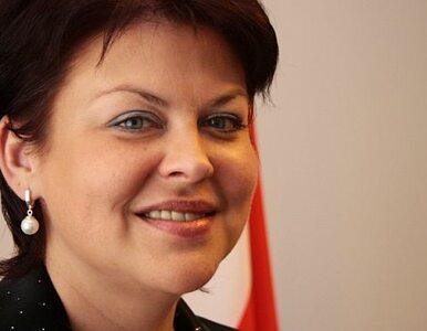 """Andżelika Borys na konferencji PiS. """"Apeluję o zabranie Polaków z..."""
