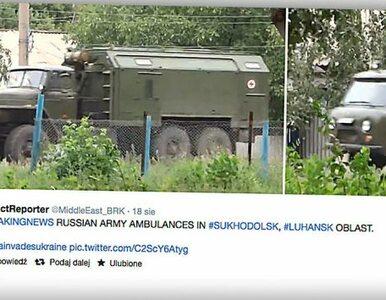 Rada Bezpieczeństwa Ukrainy: Rosjanie organizują w okolicy Ługańska...