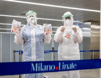 Włosi blisko tysiąca nowych zakażeń koronawirusem. To najwięcej od...
