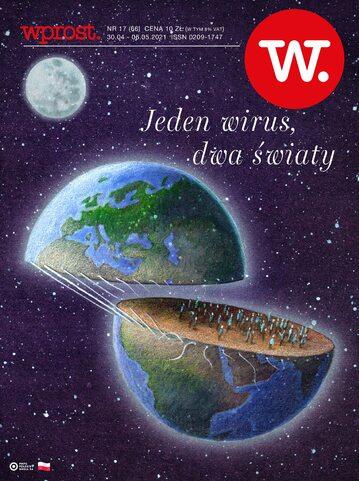 Okładka tygodnika Wprost nr 17/2021 (1982)
