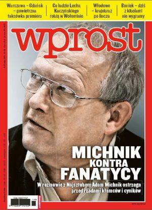 Okładka tygodnika Wprost nr 19/2011 (1474)