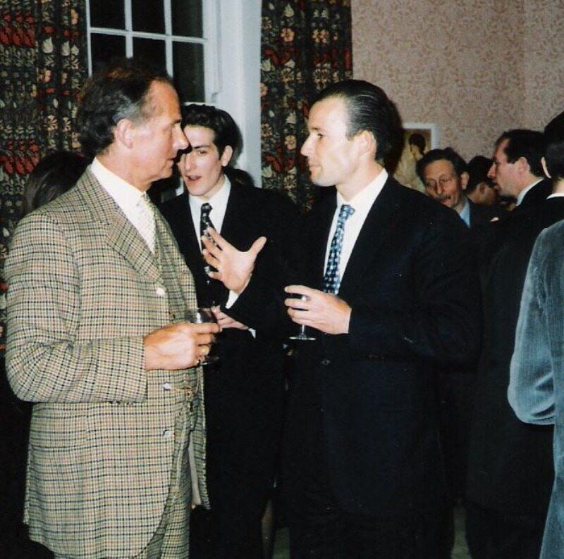 Książę Kiryl (po prawej)