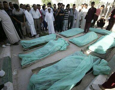 Trzy krwawe zamachy w Iraku. Giną cywile i żołnierze