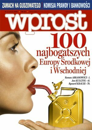 Okładka tygodnika Wprost nr 36/2006 (1238)