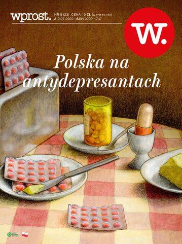 Okładka tygodnika Wprost nr 23/2020 (1939)