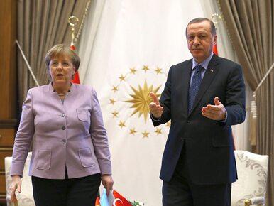 """Erdogan znów o Niemczech i Merkel. Ponowił zarzut o """"nazistowskich..."""
