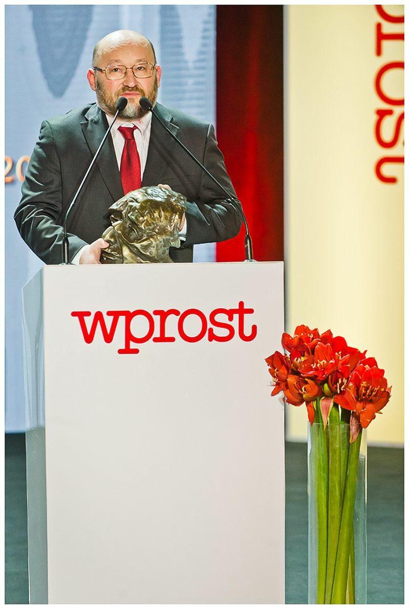Paweł Jabłoński - nagrodzony w kategorii publicysta