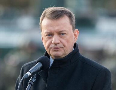 """Błaszczak komentuje zestrzelenie ukraińskiego samolotu. """"Tusk zostawił..."""