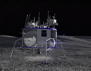 Bezos: Ten silnik zabierze pierwszą kobietę na Księżyc. Eksperci...