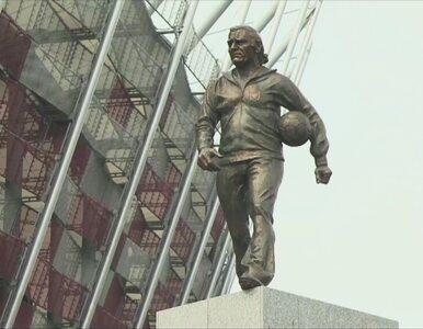 Przy Stadionie Narodowym odsłonięto pomnik Kazimierza Górskiego