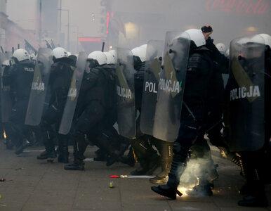 """Dziennikarze pobici przez policję przy Stadionie Narodowym. """"Miałam..."""